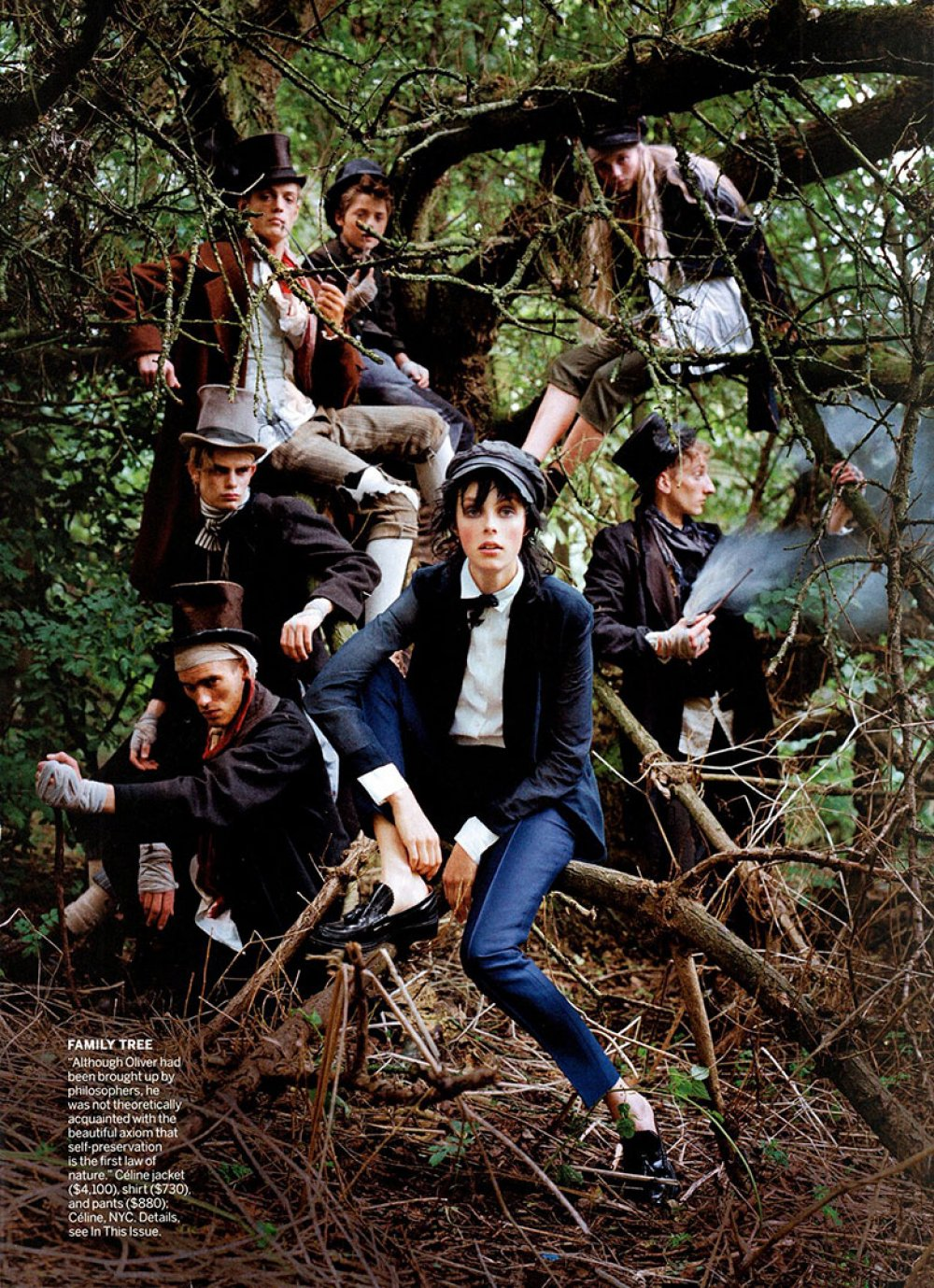 edie campbell for vogue usa whynot blog blog image