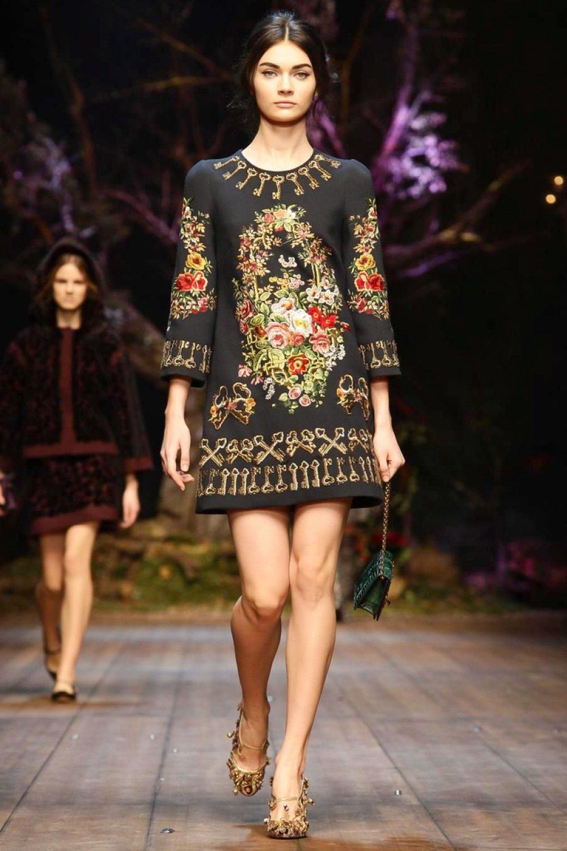 Borse Dolce Gabbana Inverno 2014 : Dolce gabbana milano womenswear autunno inverno