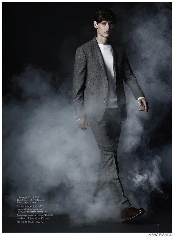 Adam Butcher For Mens Fashion Magazine Fall 2014 WhyNot Blog
