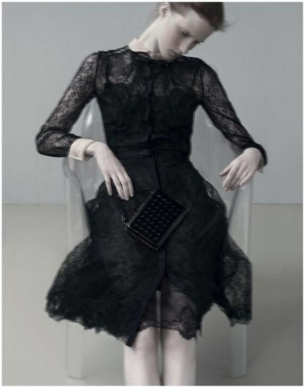 Codie Young and Magdalena Jasek for Valentino campaign, S ...