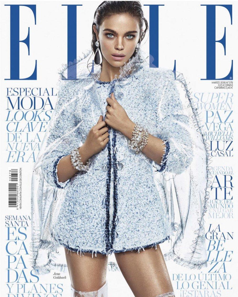 Jena Goldsack for Elle Spain March 2018. :: WhyNot Blog